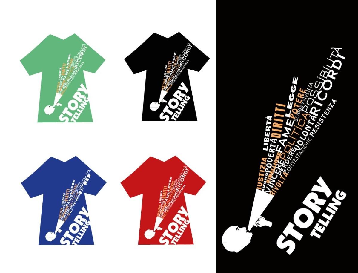 Storytelling T-shirts (1 image)