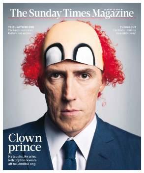 Rob Brydon for the Sunday Times Magazine