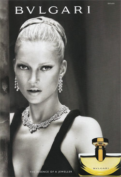 Kate Moss for Bulgary