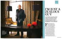 Forest Whitaker for the Sunday Times Magazine