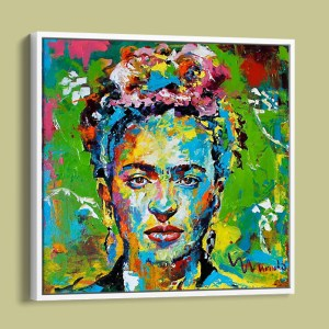 FRIDA KAHLO FRAMED PRINT BY MARINHO