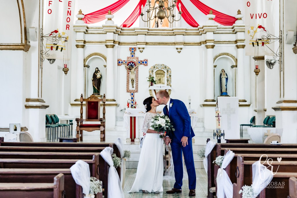 Church wedding in San Jose Del Cabo