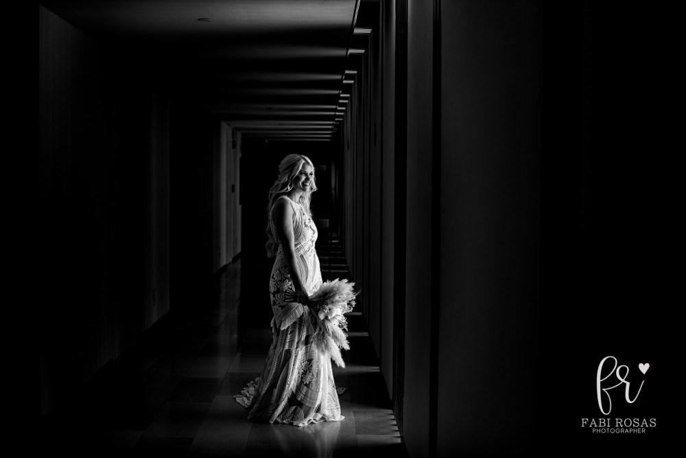 Breathless Wedding Bride Portrait
