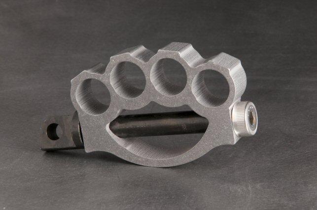 Aluminum Knuckle Kicker Pedal  Fab Kevin  Real steel