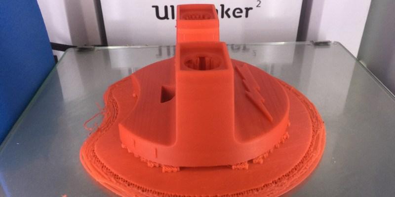 Prototype de viewmaster fabriqué par le FABlab Moebius