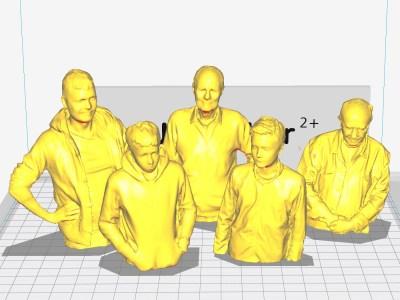 Atelier scan 3D