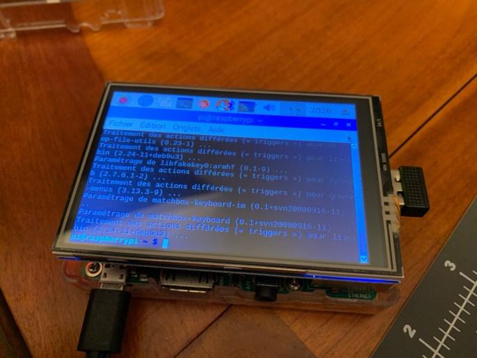 Installation écran 3.5 pouces ILI9486