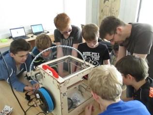3D Drucker selbst gebaut