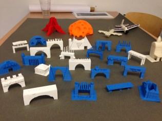 Brückenmodelle in 3D 3. Klasse GS