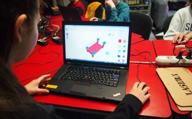 Kinder am Tinkercad