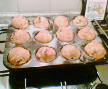 i muffin che ha preparato Marco !