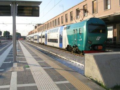 Il TAF regionale per Rovigo che mi ha portato a casa da un'assistenza a Venezia (in orario)