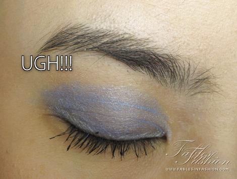 Creased Eyeshadow...