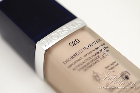 diorskin forever foundation review swatches and photos fables in fashion. Black Bedroom Furniture Sets. Home Design Ideas