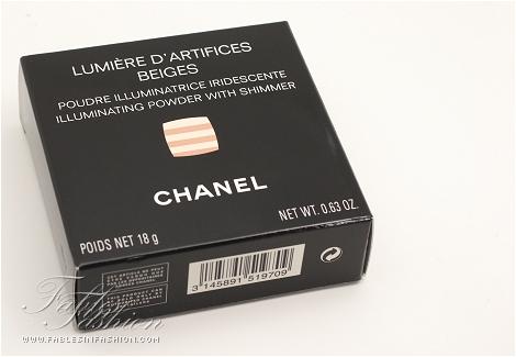 Chanel Lumière D'Artifices Beiges
