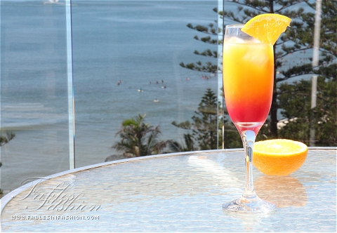 Virgin Tequila Sunrise