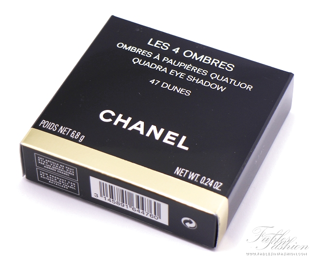 Chanel Les 4 Ombres Quadra Eye Shadow - 47 Dunes