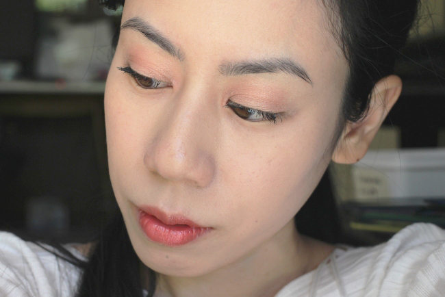 FOTD Simple Weekend Look with only 4 Products
