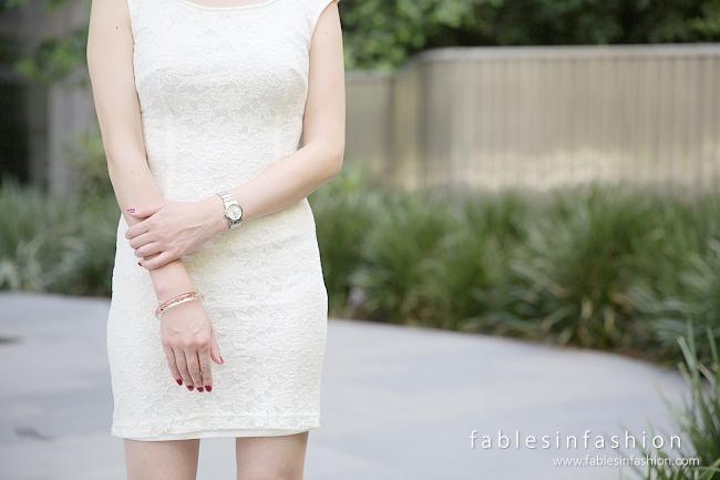 OOTD - White Dress