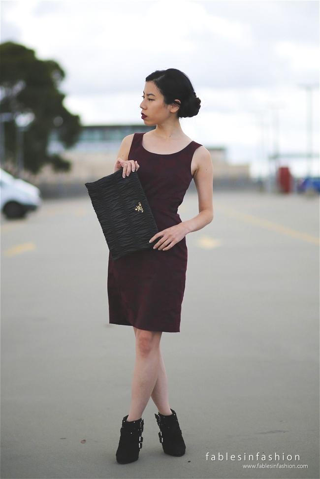 Red Work Dress