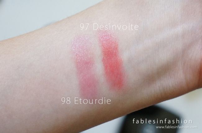 Chanel Reverie Parisienne Rouge Coco Shine - 98 Etourdie & 97 Desinvolte
