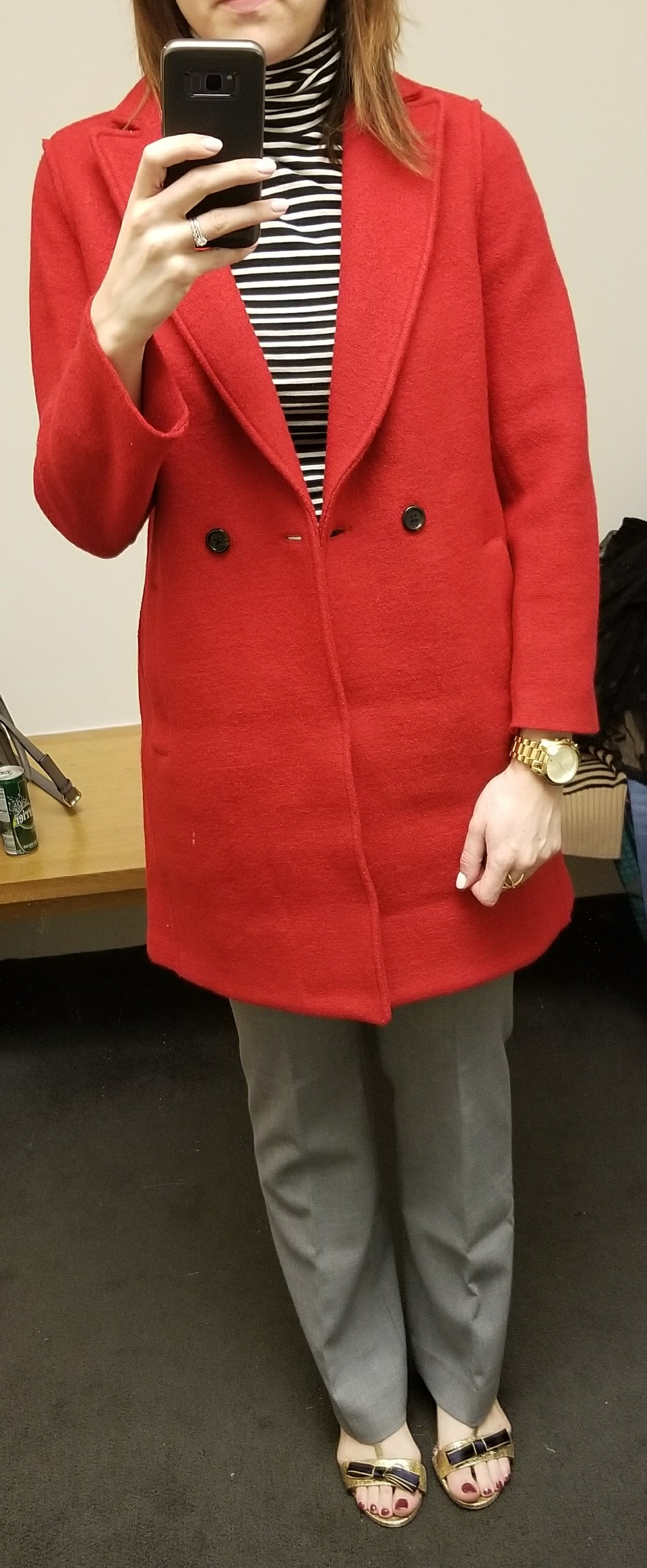 9616c44afd8 I can take or leave boiled wool so this coat was just ok for me. I have an  old boiled wool sweater coat from Banana Republic that I ve had for years  and ...