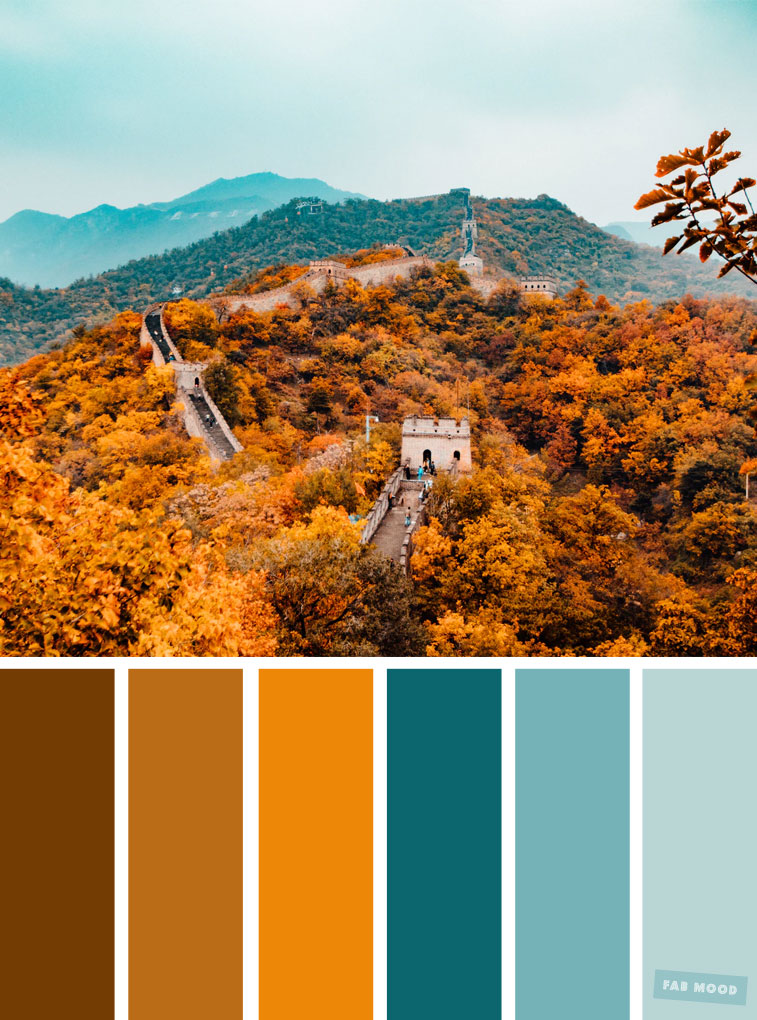 59 Pretty Autumn Color Schemes  Shades of autumn leaves