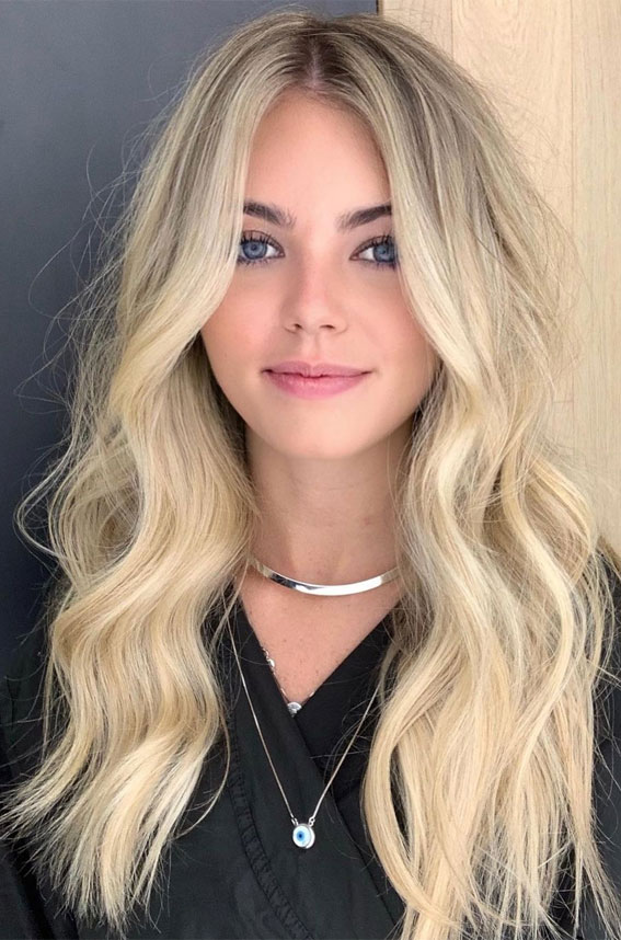 Gorgeous Hair Colour Trends For 2021 : Vanilla Blonde