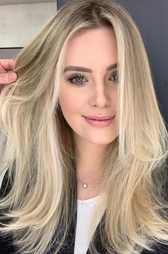 Gorgeous Hair Colour Trends For 2021 : Vanilla Blonde ...
