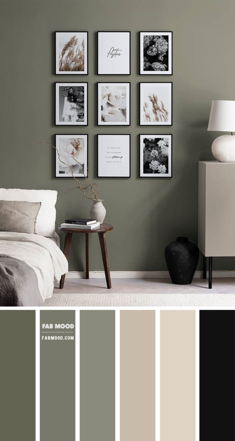 Sage And Neutral Bedroom Colour Scheme Bedroom Decorating Ideas