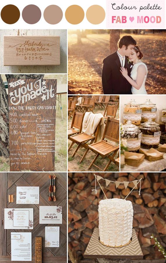 Rustic wedding color schemerustic wedding color palettes