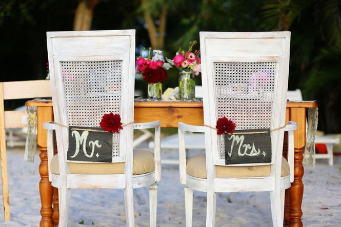 Beach Themed Wedding Reception Decorations On With
