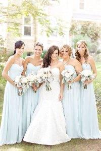 Pale Blue Bridesmaid Dresses | www.imgkid.com - The Image ...