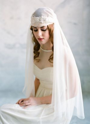 bridal veils and headpieces