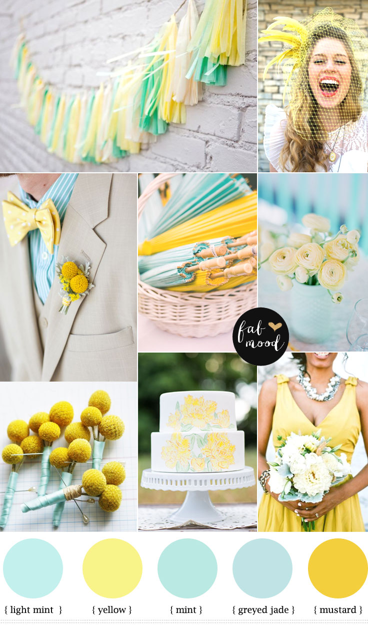 Teal And Yellow Home Decor