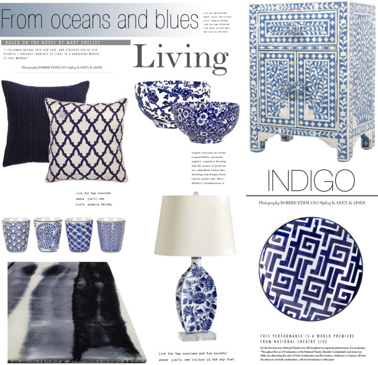 Indigo Blue Home Decorhome Decor Colour Palettes