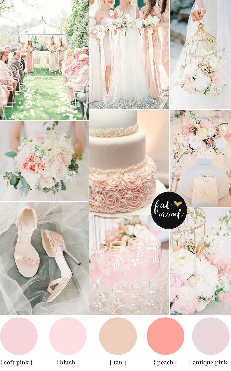 Blush Pink Wedding Heels