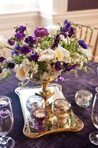 Purple and gold wedding color palette { Royal purple,Plum ...