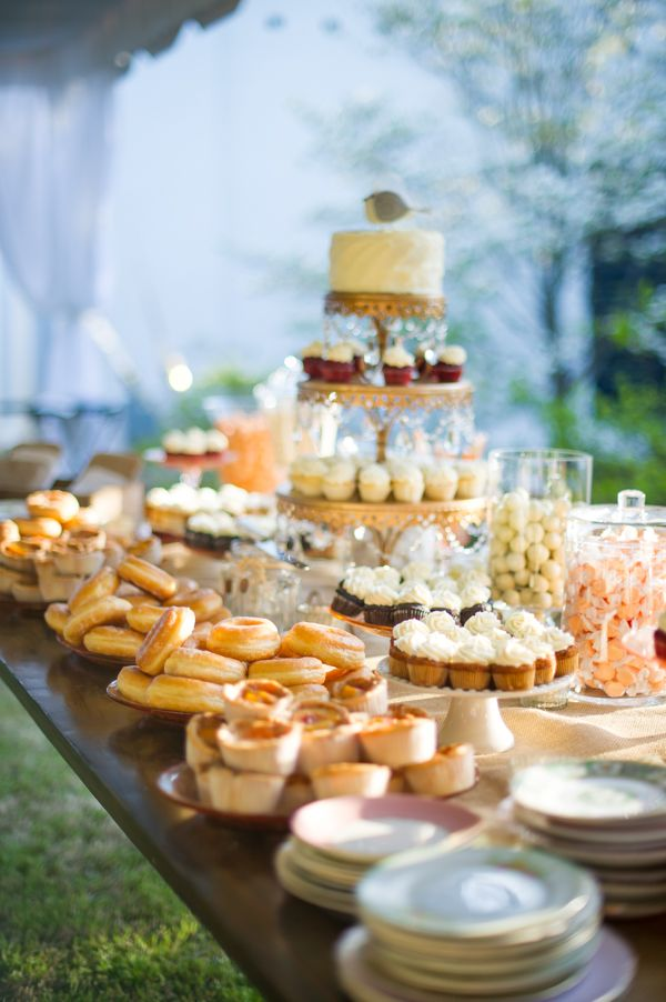 Wedding Dessert Buffet Ideas for Christmas  Winter