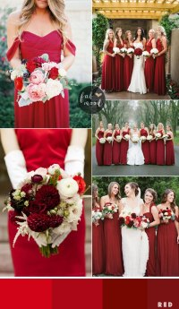 Bridesmaids Dresses by colour and theme that could work ...