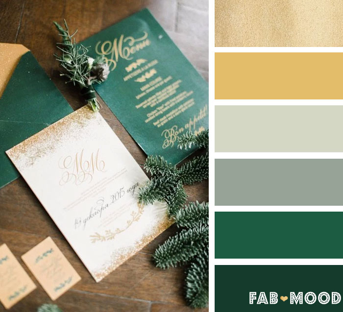 12 Winter Wedding Color Palettes Winter Wedding Color Ideas