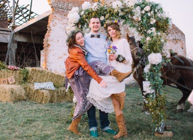 Newly wed Natural,Boho Hippie Chic Wedding | fab mood