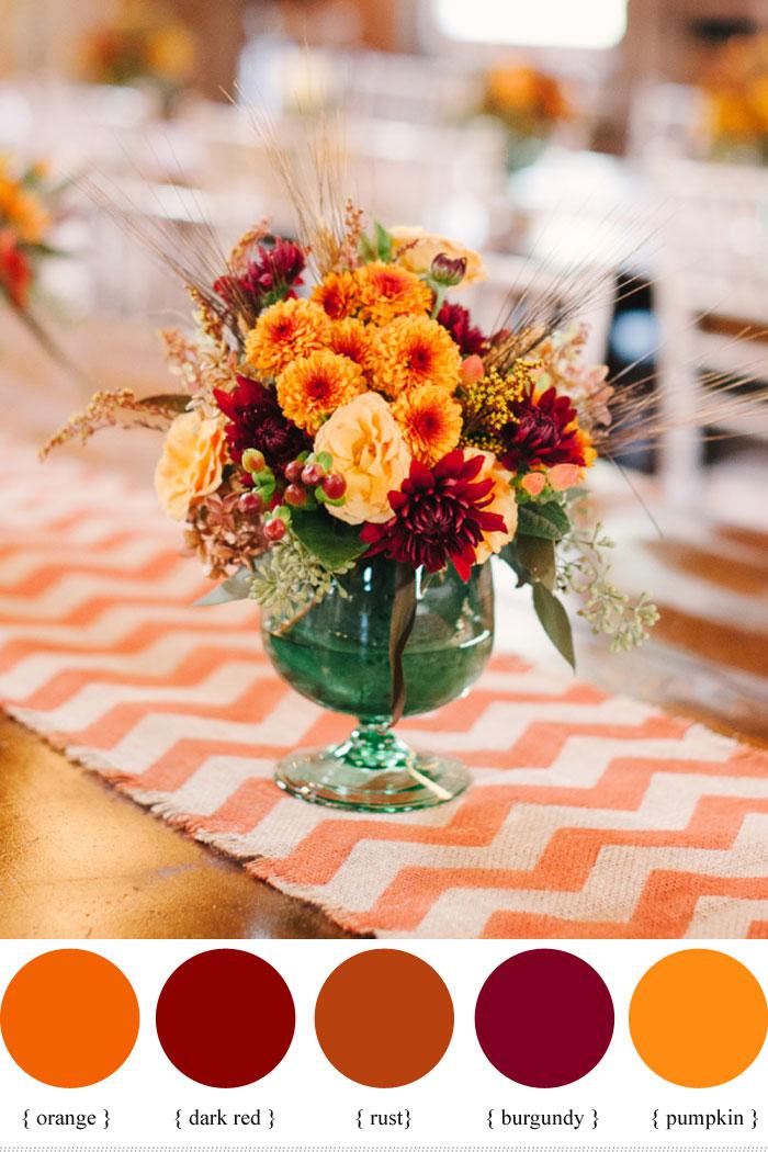 Hypericum Berry Wedding Flowers For Autumn Wedding