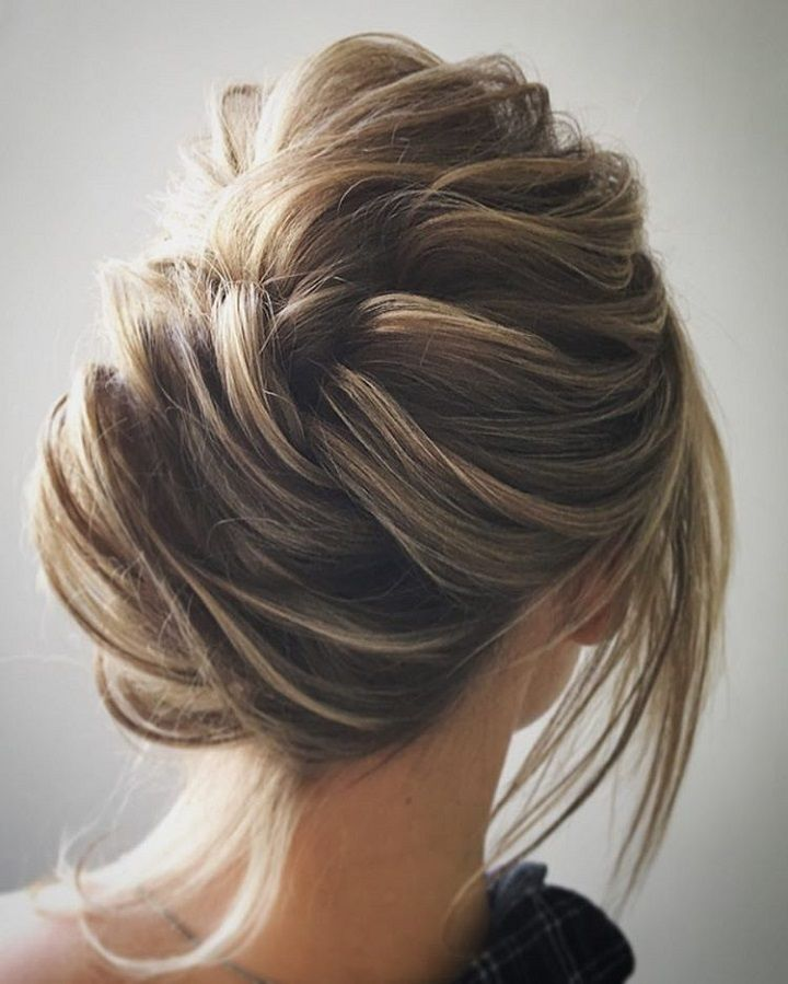 Unique wedding hair ideas to inspire you - This undone updo is so amazing , hairstyle ,updo ,wedding hairstyle ,bride hair