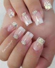 beautiful wedding nail art