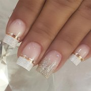 beautiful wedding nail art
