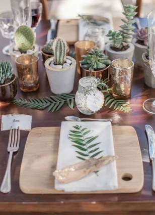 Cactus wedding favors - Perfect summer wedding favor & green wedding ideas