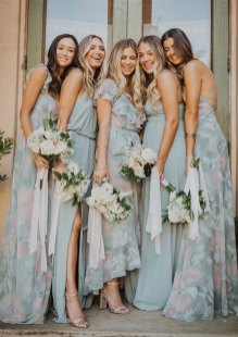 14 Spring 2020 Bridesmaid Dresses Mismatched Bridesmaid Dresses