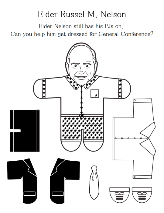 10 Free General Conference Printables for Toddlers & Young