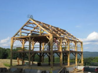 Timber Frame Construction - Fabric of Life